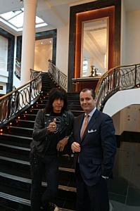 Отель «Коринтия Санкт-Петербург» приветствует легенду панк-рока Марки Рамона