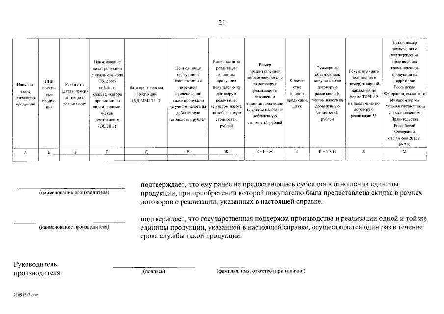 Правила предоставления субсидий станкостроительным производителям