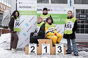 Итоги Первоянварского забега от проекта «Бежим круглый год с Activizm.ru и Парком Сокольники»