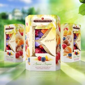 Упаковка «Летнее ассорти» для ТМ «Коркунов» от Solids Branding