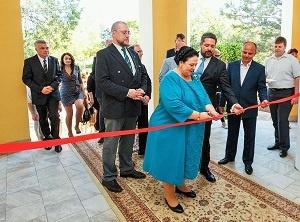 Крым. Великая княгиня посетила официальное открытие парка-отеля «Романова»