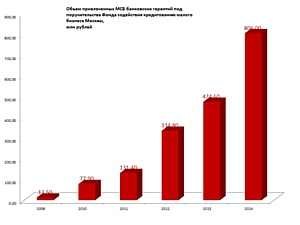 Малый бизнес Москвы привлек 806 млн.руб банковских гарантий благодаря гарантийному фонду