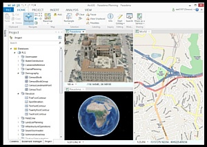 Esri CIS: стартовало бета-тестирование ArcGIS Pro – нового приложения в составе ArcGIS for Desktop
