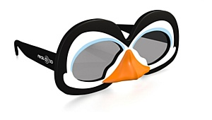 RealD выпустила эксклюзивные 3D-очки «Пингвины Мадагаскара»