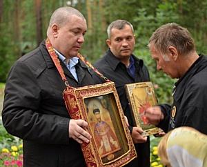 Наталья Поклонская приняла участие в ежегодном Царском Крестном ходе в Екатеринбурге.