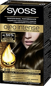 Syoss Oleo Intense: новый уровень стойкости и интенсивности цвета