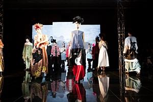 Театр моды ELLE с участием Татьяны Парфеновой