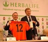 Компания Herbalife выступит в качестве  Официального партнера по питанию ФК «Шахтер» в 2012-2014 гг.