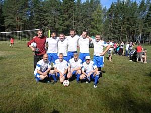 Команда ОАО «Тверьэнергосбыт» приняла участие в футбольных баталиях энергетиков