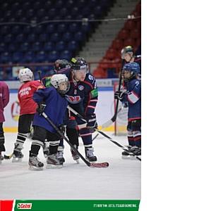 Castrol Magnatec и ведущие игроки ХК «Сибирь» дали мастер-класс юным хоккеистам Новосибирска