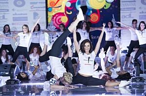 «Мисс Фитнес» - выбрана самая спортивная офисная сотрудница России!