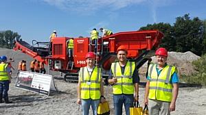 ЗАО «Коминвест-АКМТ» приняло участие в Дне открытых дверей Terex Finlay в Германии