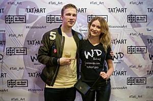 Открытие выставки художника Марии Красновой Vinyl Akryl Weekend Art.