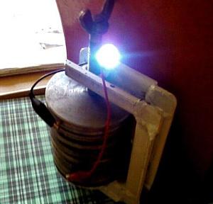 Альтернативное устройство для получения электроэнергии.
