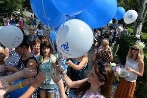 Ростовская АЭС:  атомщики поздравили Волгодонск с Днем рождения.