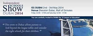 Independent Schools Show - выставка лучших частных школ Великобритании в Дубае 2-3 Мая 2014.