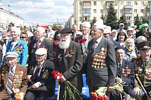 В Брянской таможне отметили 71-ю годовщину Великой Победы