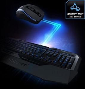 Новейшая технология ROCCAT Talk для синхронизации мыши и клавиатуры