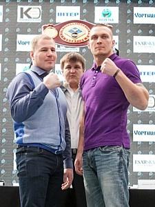 Бой Усика и Князева за чемпионский титул пройдет при поддержке бренда «Хортиця»