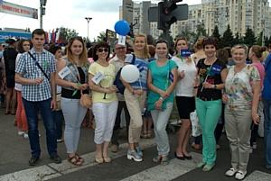 Сотрудники филиала «Брянскэнергосбыт» ООО «ТЭК-Энерго» прошли «Партизанскими тропами Брянщины»