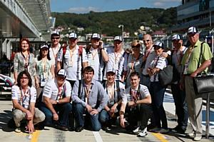 Команда Кемппи посетила Королевские Гонки Формула-1 в Сочи