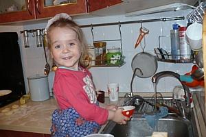 Самые хозяйственные малыши России получили подарки от «Спеленка»