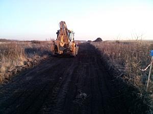 Началось строительство дорожного корыта в новом проектном поселке «Большие дворы»