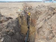Начались работы по прокладке газопровода в поселке Демидовская усадьба
