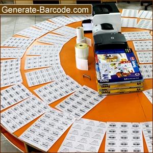 Generate-Barcode.Com запускает Barcode Software с линейной и шрифта текста 2D поддержки