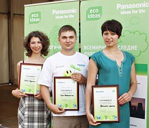 Panasonic поддерживает экологические инициативы участников Форума «Селигер-2012»
