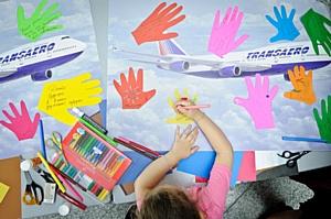 Благотворительный проект «Рейс надежды» авиакомпании «Трансаэро» отметил полугодие полетов