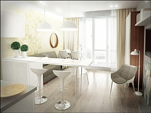В Западном корпусе комплекса «Лайнер» в продажу вышли апартаменты с отделкой