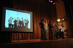 Встреча учащихся МГДД(Ю)Т, участников международных мероприятий 2012 года.
