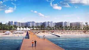 Апартаментный комплекс Горизонт всего в 20 метрах от моря в Адлере!