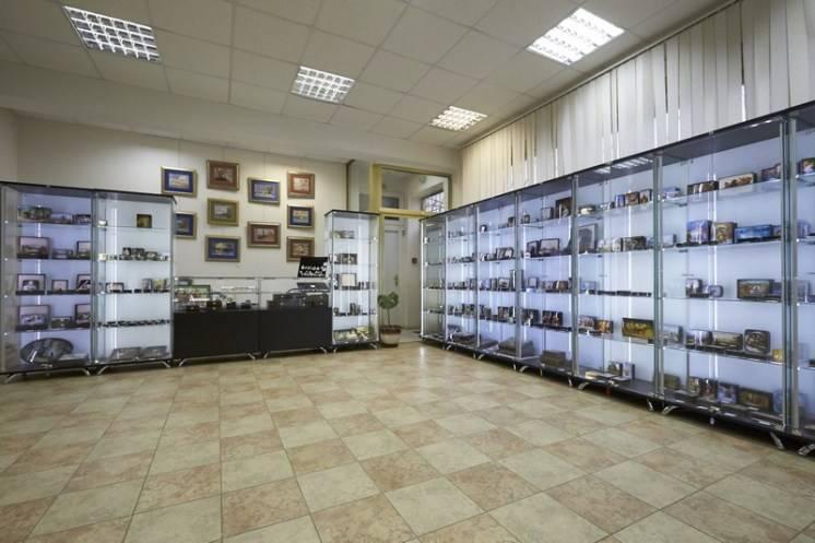 Экспонаты музея Федоскино