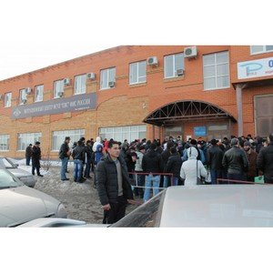 Тюменские активисты ОНФ проверили условия получения разрешений на временное проживание мигрантов