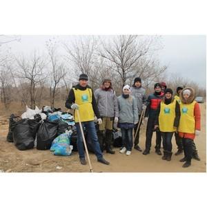 Активисты ОНФ в Волгоградской области убрали свалку строительного мусора в Ворошиловском лесничестве