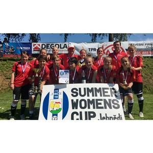 Футболистки вуза взяли «Летний Кубок Европы»