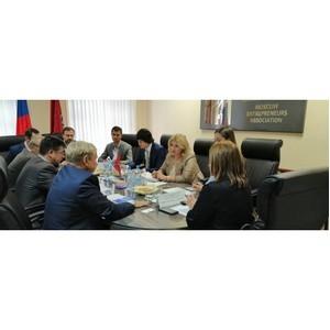 Встреча представителей МАП и Посольства Республики Молдова