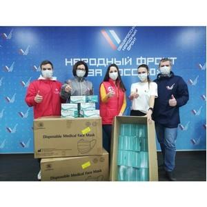 В Волгограде Сбербанк передал медицинские маски для акции #МыВместе