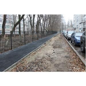 ОНФ добивается установки водоотводных лотков в Воронеже
