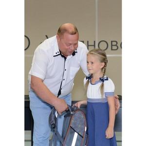 «Ульяновскцемент» вручил первоклассникам рюкзаки