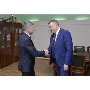 Игорь Маковский посетил с рабочим визитом Тамбовскую область