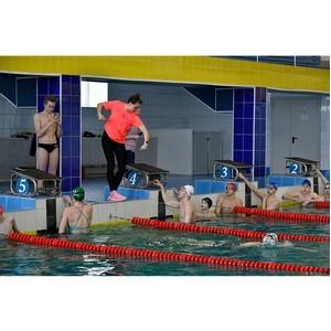 Мастер-класс для юных пловцов прошел при поддержке Уралвагонзавода