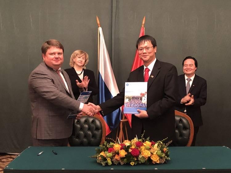 Подписан меморандум о сотрудничестве МГРИ-РГГРУ с Ханойским университетом горного дела и геологии