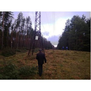 Энергетики завершают восстановление энергоснабжения в Тверской области