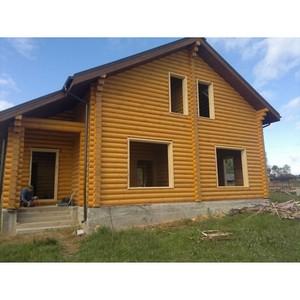 Дома из бруса от компании «СтройДом-Можайск»