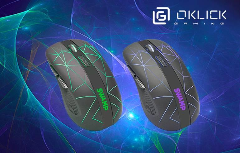 Игровая компьютерная мышь OKLICK 975GW SWAMP: удобство в играх