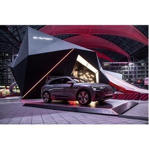 Audi e-tron «заряжает» аэропорт Мюнхена
