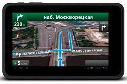 Навигатор в планшете: Digma iDn7 3 G